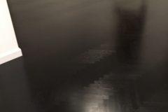Parkiet dąb, bejca czarna, wykończony OLEJOWOSK OSMO Półmat