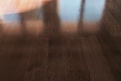 Renowacja deska dąb, kolor OSMO COGNACK, JEDWABISTY POŁYSK