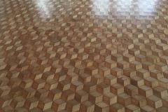 Renowacja mozaiki - lakier półmat