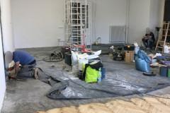 Renowacja parkietu - Sala taneczna, wykończenie OLEJ BONA CRAFT OIL 2k Natural